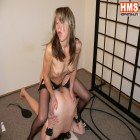 Horny mature lesbians busy with their kinky play