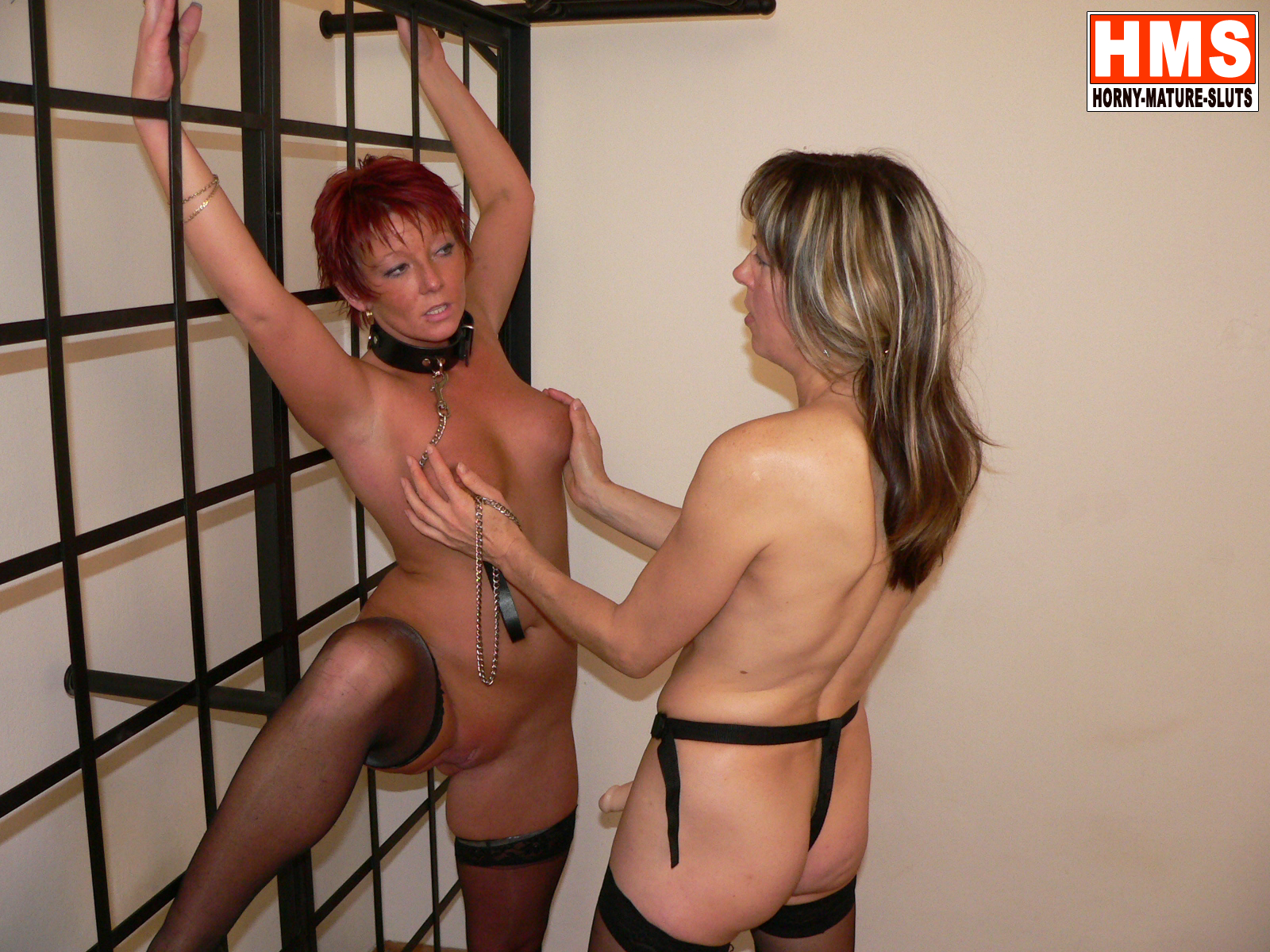 Two kinky mature lesbians getting nasty
