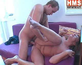 She loves sucking and fucking with a younger dude