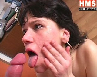 This horny housewife loves a throbbing cock