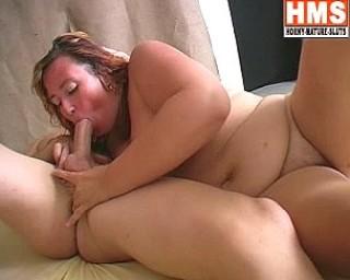 Horny mature slut sucking and fucking hard