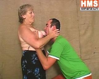 Granny loves a throbbing hard cock