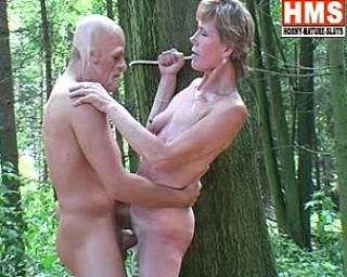 Fucked in the forest by a masked man